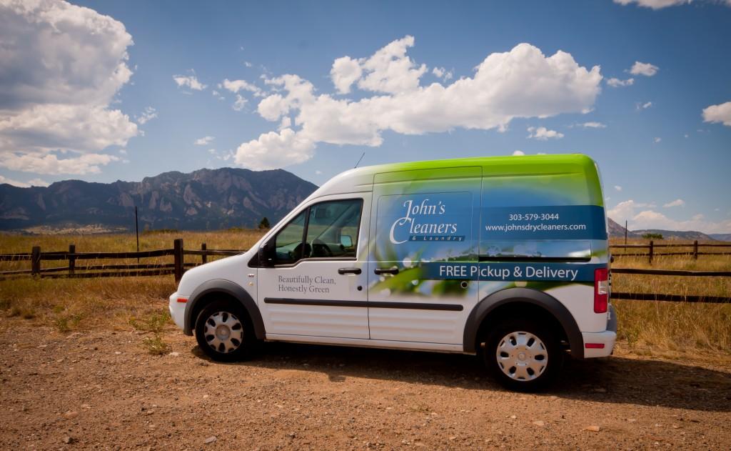 Vehicle Wrap Design in Boulder, Colorado